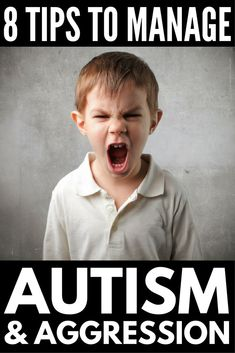 Autism and Behavioral Problems: 6 Anger Managements Tips for Kids | Autism and anger can be all-consuming. From explosive meltdowns to self-injurious behavior, it's essential for parents to equip their children with the coping skills they need in the classroom and beyond. We're sharing our best self-discipline and self-control activities as well as other tips and tools you can use to calm an angry child.#anger #angermanagement #parenting #parentingtips #parenting101 #autism #ASD #meltdown