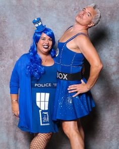 First time assembly John Barrowman, and I couldn't have picked a greater gown to put on immediately! Tardis Dress, Captain Jack Harkness, John Barrowman, Torchwood, Geek Girls, Dr Who, Put On, First Time, Men Dress