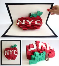 Unfolding Urbanism: 3D Pop-Up Paper Art of New York City