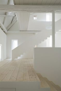 Kirchplatz Office + Residence, Muttenz - Basel, 2012 by Oppenheim Architecture + Design  #architecture #design #interiors #white