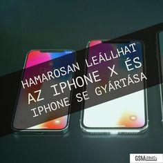Hamarosan leállhat az iPhone X és iPhone SE gyártása Iphone Se, Apple Iphone, Tech, Phone Cases, Technology, Phone Case