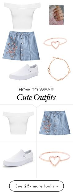 """Cute outfit"" by perezanahi37 on Polyvore featuring WearAll, Vans, Love Is and BERRICLE"