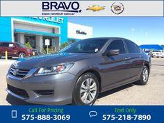 2013 Honda Accord Sedan LX 23k miles Call for Price 23610 miles 575-888-3069 Transmission: Manual  #Honda #Accord Sedan #used #cars #BravoChevroletCadillac #LasCruces #NM #tapcars