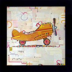 Danny O ' Airplane' Framed Art