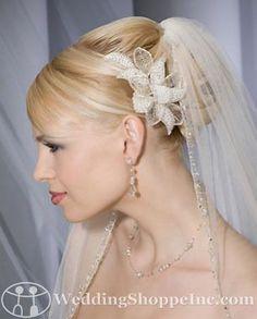 Bel Aire Bridal Headpiece 6133