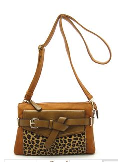 Wild, LOVE this bag and #leopard