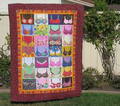 Mary Lou's Bra Quilt * wonderful quilt