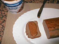 Pão de banana (com farinha de trigo sarraceno Myprotein) -