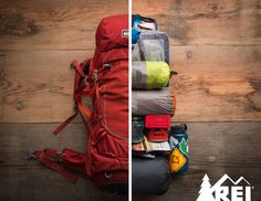 Consider your order of operations when packing your bag; thank yourself later.