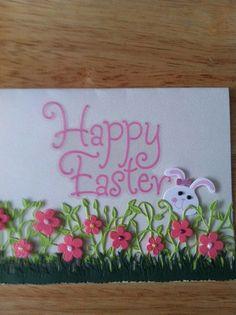 Blank Easter Garden Card #Easter