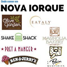 Selecionei 7 dicas de onde comer em Nova Iorque, com preço e mais detalhes dos restaurantes e lanchonetes que estive em Nova Iorque.