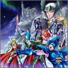 Saint Seiya Asgard by Juni-Anker