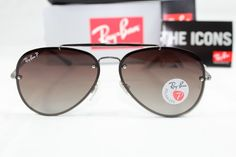 4b22f45ba8 Extra Off Coupon So Cheap Ray-Ban Blaze pilot RB Copper Sunglasses  bronze brown polarized lens