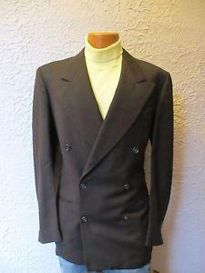 $50  http://www.ebay.com/itm/30s-Vintage-Mens-Wool-Herringbone-Double-Breasted-Jacket-40-long-/151209851569?pt=Vintage_Men_s_Clothing&hash=item2334cf3ab1