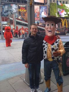 Got A Picture With Woody In Times Square… | Bored Panda
