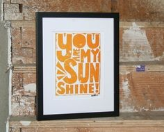 Raw Art Letterpress via Esty.  She has all sorts of great sayings and quotes from books!
