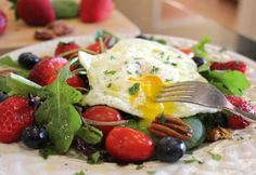 Breakfast Salad for Health and Weight Loss