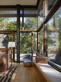 justthedesign:    Living Room Lake Shore Drive House by Wheeler Kearns Architects