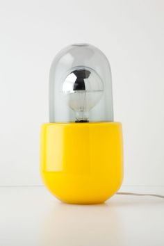 Submarine Yellow Time Capsule Base / Anthropologie.com