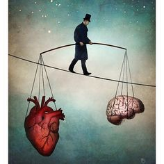 """""""The Balance"""" Digital Art by Christian Schloe posters, art prints, canvas prints, greeting cards or gallery prints. Find more Digital Art art prints and posters in the ARTFLAKES shop. Art And Illustration, Illustrations Posters, Fantasy Kunst, Fantasy Art, Balance Art, The Balance, Balance Design, Visual Metaphor, Kunst Poster"""