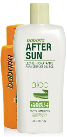 AFTER SUN ALOE VERA + LECHE SOLAR | babaria