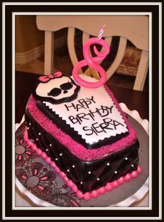 MONSTER HIGH BIRTHDAY CAKES   here for references and inspiration.