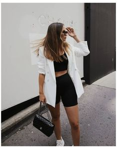 Street Style Outfits, Looks Street Style, Mode Outfits, Looks Style, Street Style Summer, Club Outfits, Dope Style, Street Outfit, Trendy Style
