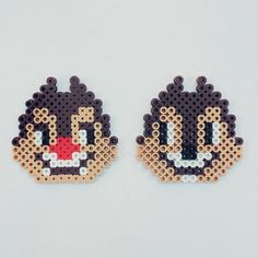 Chip n' Dale perler beads by fromcheese