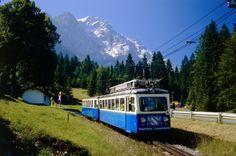 Garmisch-Partenkirchen, Bavarian Zugspitze Railway