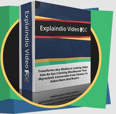 Explaindio Video FX PRO LIFETIME By Andrew Darius - Explaindio LLC Review : Outstanding Transform Any Mediocre Looking Video Into An Eye Catching Blockbuster That Skyrockets Conversion From Viewers To Subcribers And Buyers, Easy & Intuitive, Match Your Effect To A Style, Unlimited Commercial Use