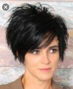 - hair styles for long hair length - Funky Short Hair, Edgy Hair, Short Hair Cuts For Women, Girl Short Hair, Short Hair Trends, Short Hair Styles, Hip Hair, Hair Affair, Great Hair