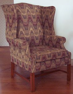 Waverly Flame Stitch Fabric | Veenendaal Period Furniture