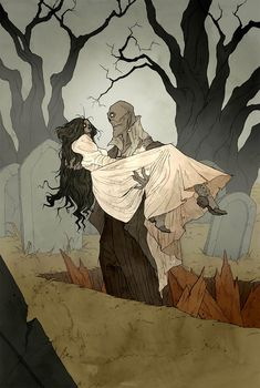 Love Like Blood: The Superb Macabre And Gothic Artworks Of Abigail Larson Arte Horror, Horror Art, Disneysea Tokyo, Abigail Larson, Gothic Artwork, Gothic Drawings, Zombie Walk, Dibujos Cute, Fantastic Art