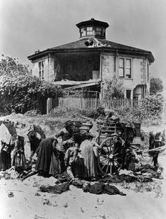 McElroy Octagon House After the Earthquake