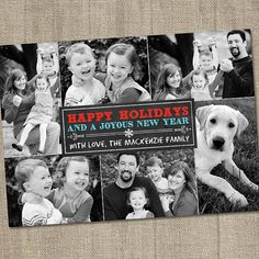 Hey, I found this really awesome Etsy listing at https://www.etsy.com/listing/106289447/chalkboard-holiday-photo-card-christmas