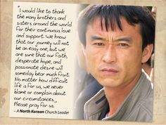 Your prayers for your North Korean brothers and sisters are heard! Pray during our International Days of Prayer.