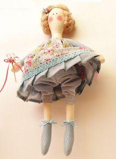 Tilda Workshop: Полина и Катарина - куколки феи