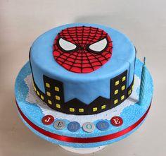 Violeta Glace: Tortas para chicos. #spiderman                                                                                                                                                                                 Más