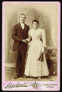 Wedding Cabinet Card