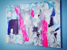 L'imaginaire inconscient - Abstract art / Acrylic - Sold