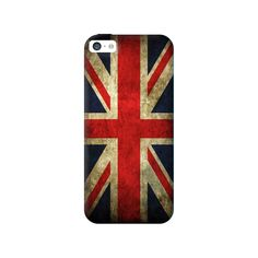 Vintage Britain Apple iPhone 5C Case from Cyankart