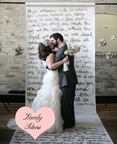 love backdrops with words