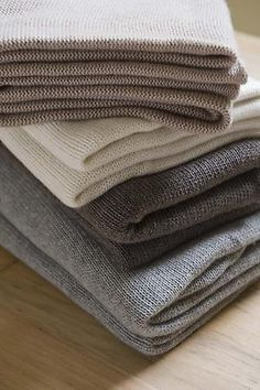 cashmere - there is nothing like it. I'd rather have just one cashmere sweater instead of 10 cotton ones.
