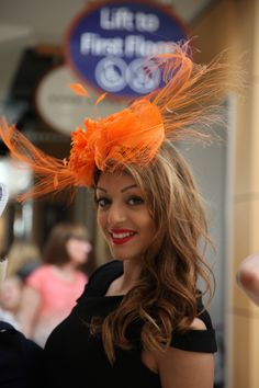 Simply Devine Hats showcased at Reiss York Store.  How to dress for Ascot.