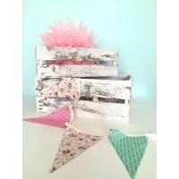 Cajas Vintage blancas.decoración vintage,bodas,fiestas - Vintastic Shop