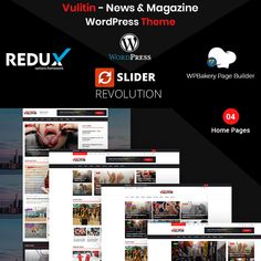 best News WordPress themes - by ModelTheme Team Page, News Sites, Website Themes, Wordpress Template, News Magazines, Best Wordpress Themes, Earn Money Online, Page Layout, High Quality Images
