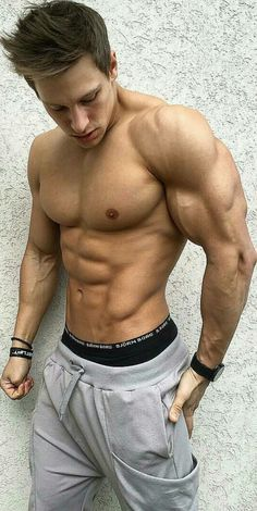 Lean and muscular........