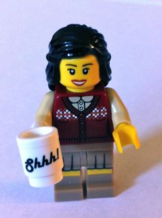 """28 Lego Librarians (PHOTOS) 