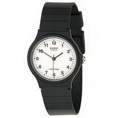 Casio Men's Analog Black Resin Strap Watch Casio Classic, Simple Watches, Casual Watches, Smartwatch, Casio Quartz, Best Watches For Men, Watch Model, Watches Online, Men's Watches