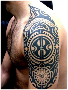 Maori Tribal Tattoo Designs Tips: Symbol Maori Tribal Tattoo Ideas For Men On Sleeve ~ Tattoo Design Inspiration